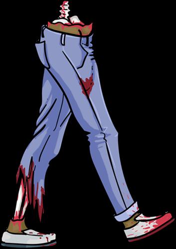 Designer zombie legs